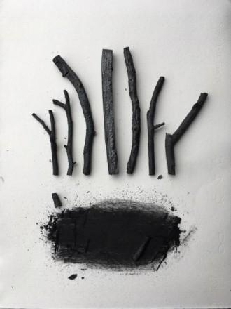 木炭で遊ぶ ―手づくり木炭で描こうー