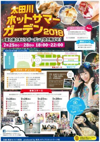太田川ホットサマーガーデン2018
