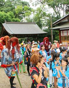 猩々メッタ(船津神社)