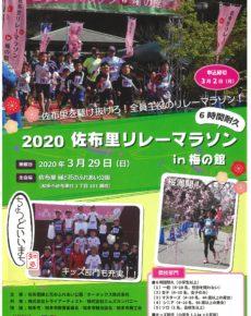 2020 佐布里リレーマラソンin梅の館